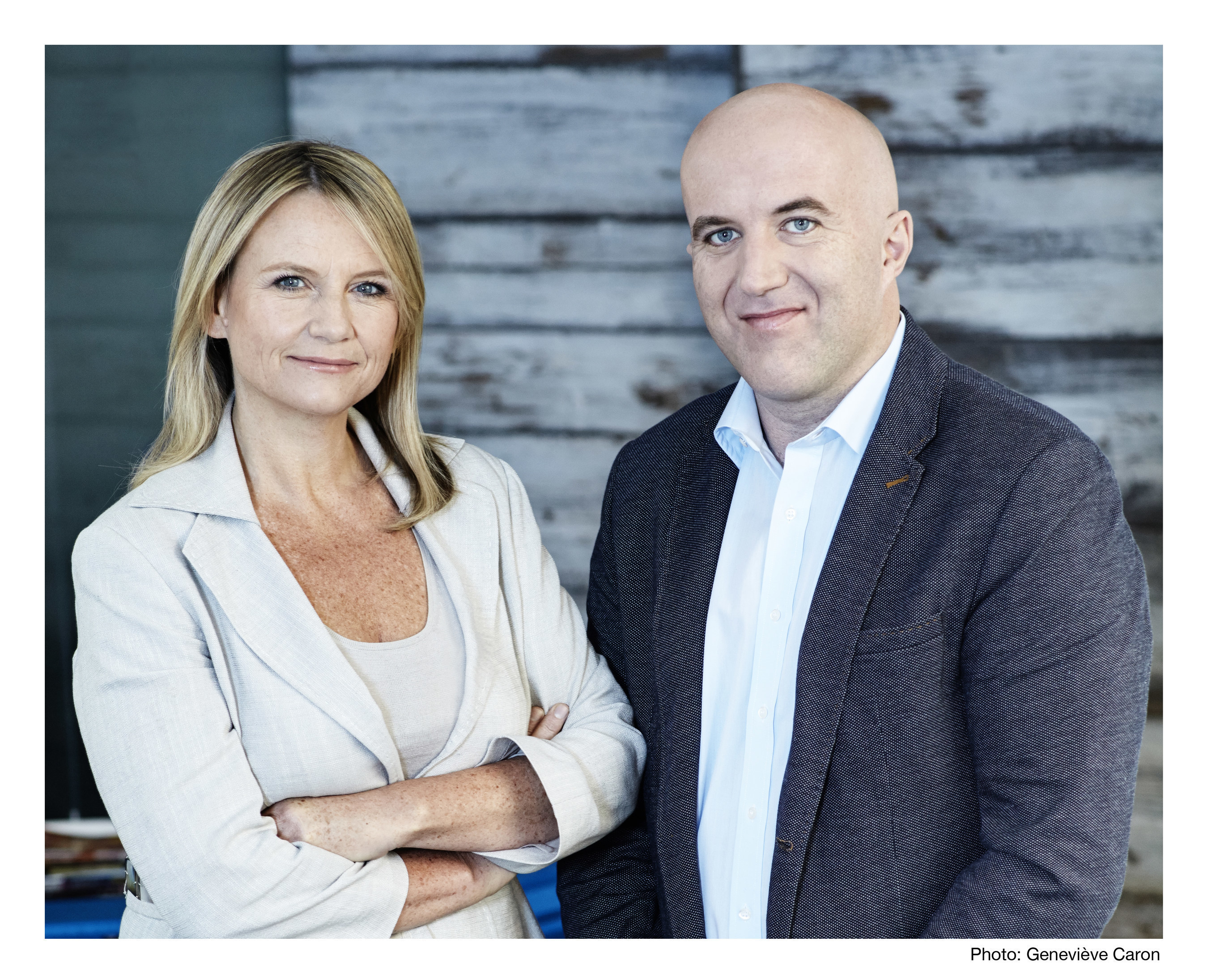Mia Pearson and Justin Creally are the co-founders of North Strategic, acquired by MSLGROUP.