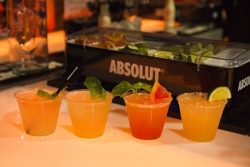 Absolut Little Sun serves up custom curated cocktails at the Coachella Valley Music and Arts Festival. (PRNewsFoto/Pernod Ricard USA)
