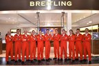 The Red Arrows opening Breitling's new Bluewater store (PRNewsFoto/Breitling UK)
