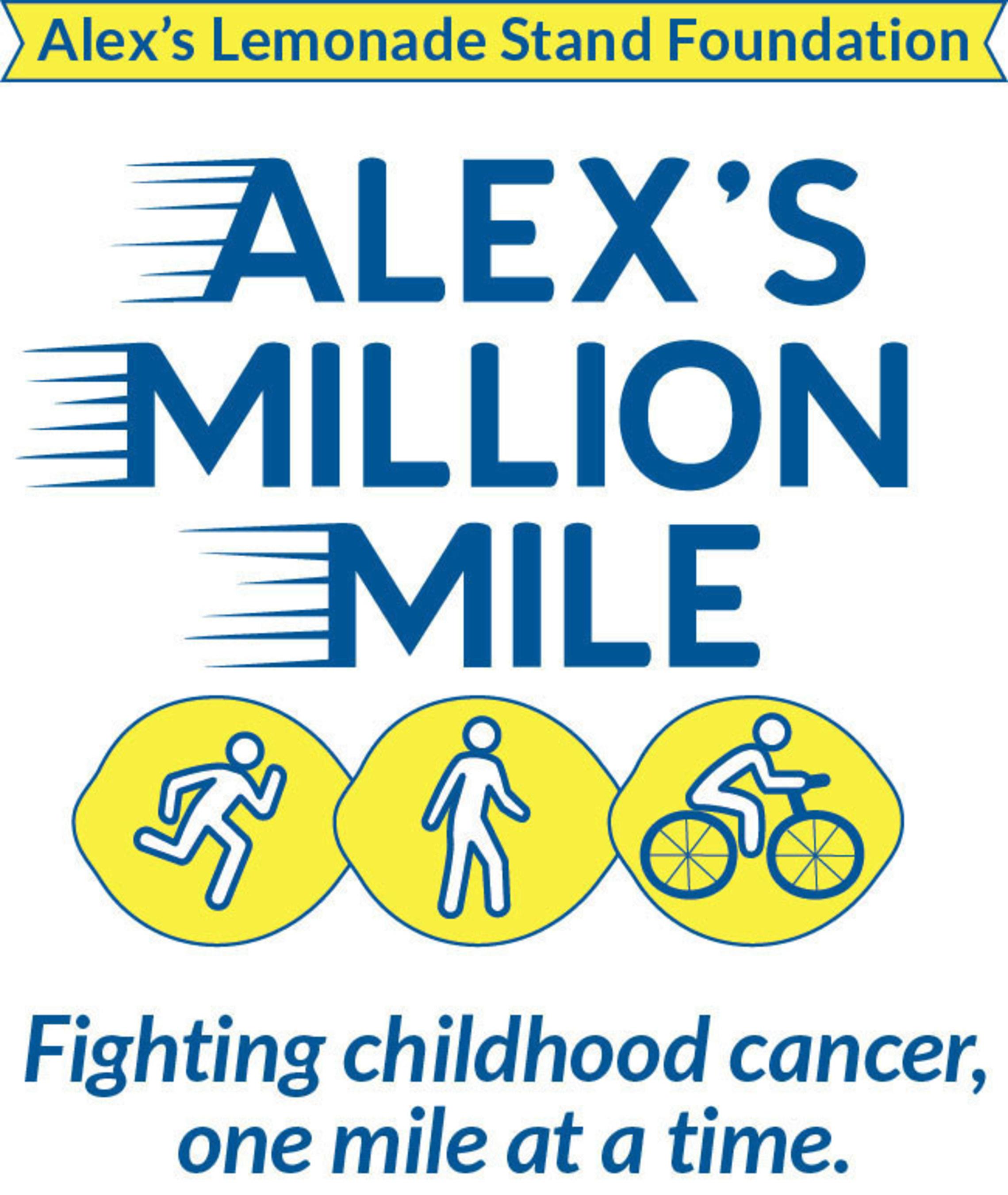 Alex's Million Mile - Run. Walk. Ride.