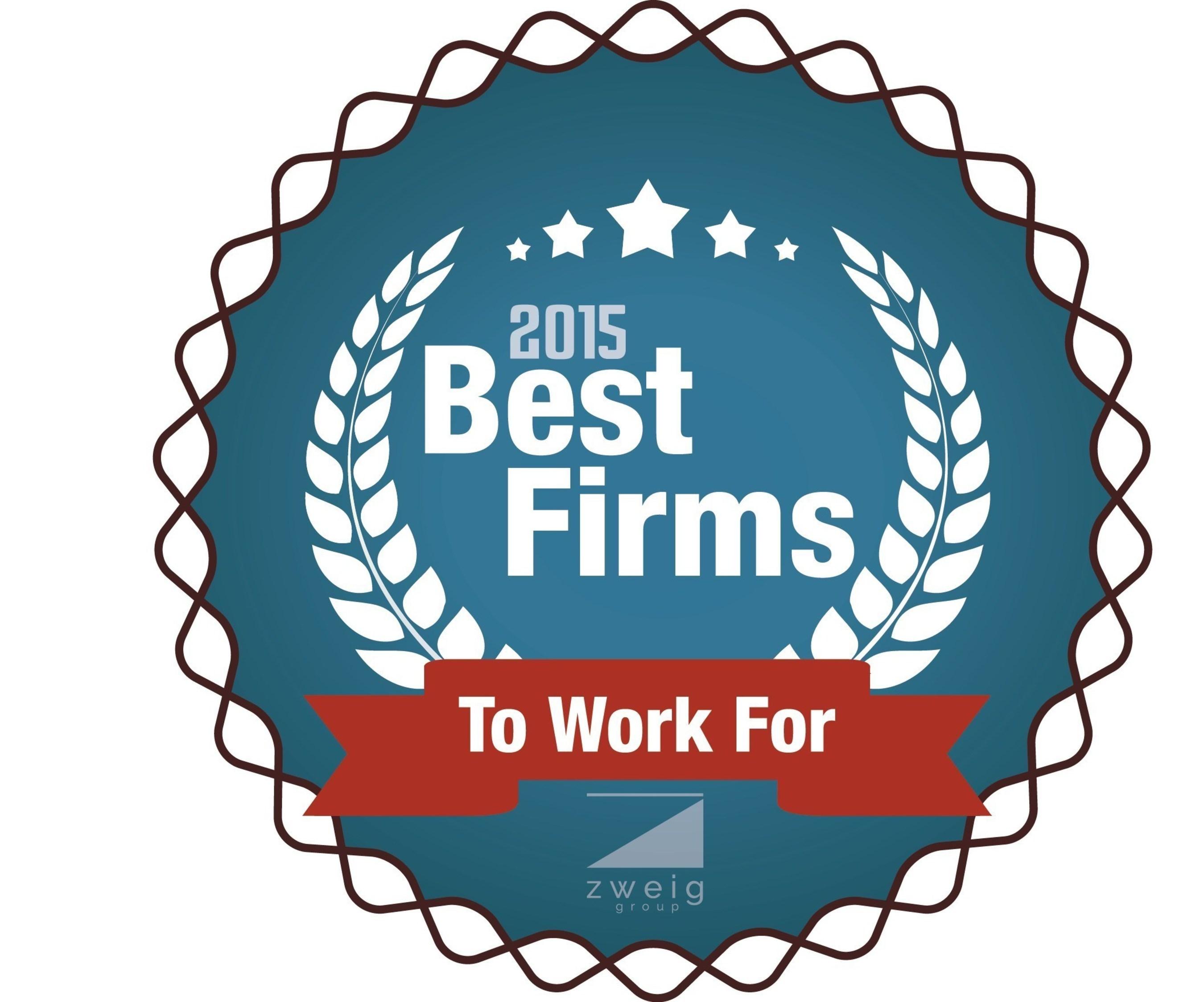 2015 Best Firm Winner