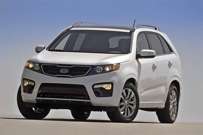 Bill Jacobs Kia has the 2013 Kia Sorento in stock and it recently was named to Consumer Guide's Best Buy List.  (PRNewsFoto/Bill Jacobs Kia)