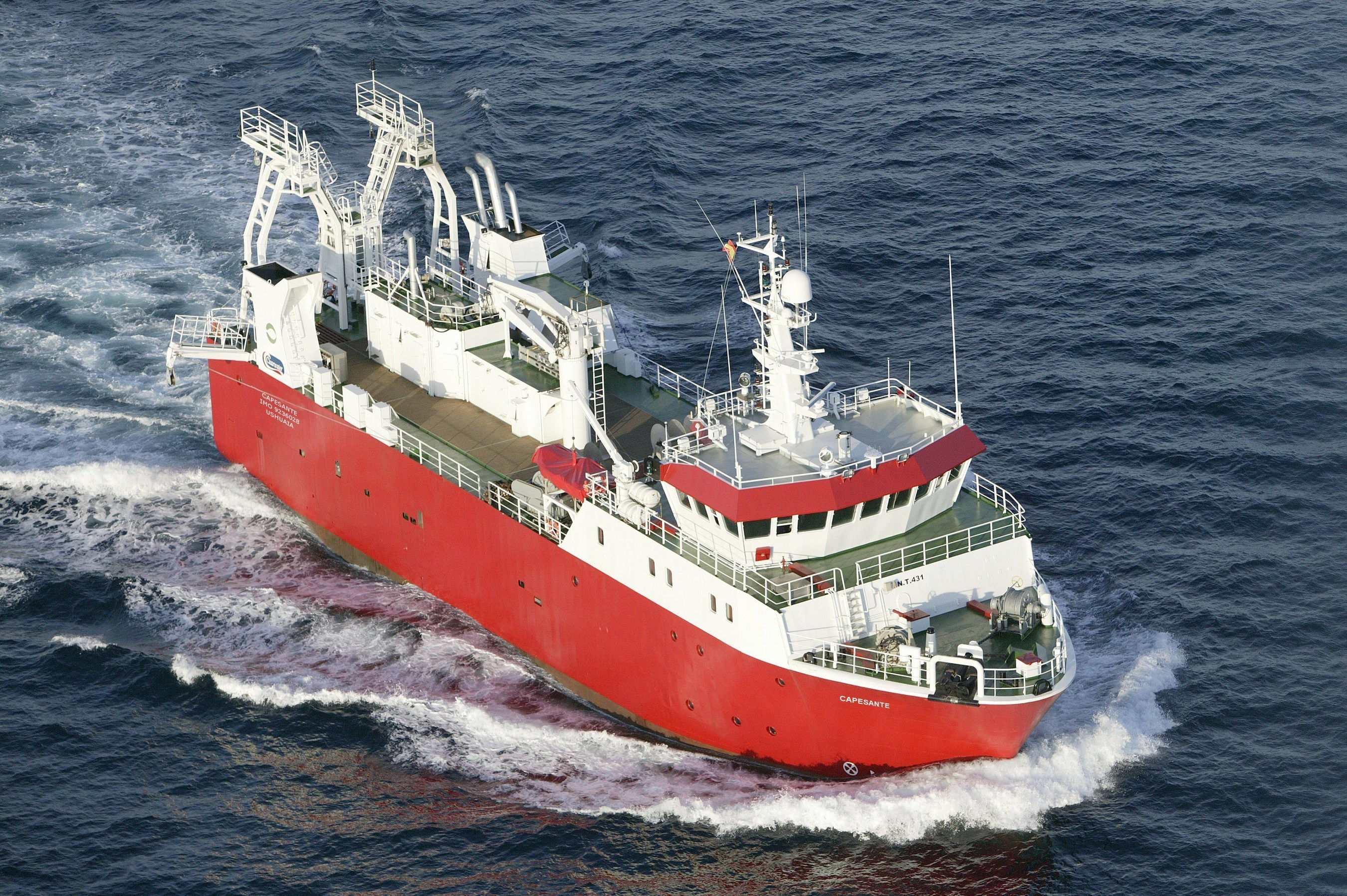 Clearwater Seafoods Launches New Argentine Scallop Harvesting Vessel