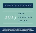 2015 European Automotive Transmission Visionary Innovation Leadership Award