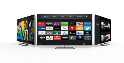 VIZIO Internet Apps Plus(TM) Continues Building Momentum with New Apps Including Spotify, Lyve, AirCastLive(R), Baeble Music, Plex and New Features Like Second Screen Experiences Supported by YouTube and Netflix. (PRNewsFoto/VIZIO) (PRNewsFoto/VIZIO)