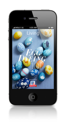 Egg Dyeing 101 from Martha Stewart Living™ App for iPhone and iPod Touch Now Available on the App
