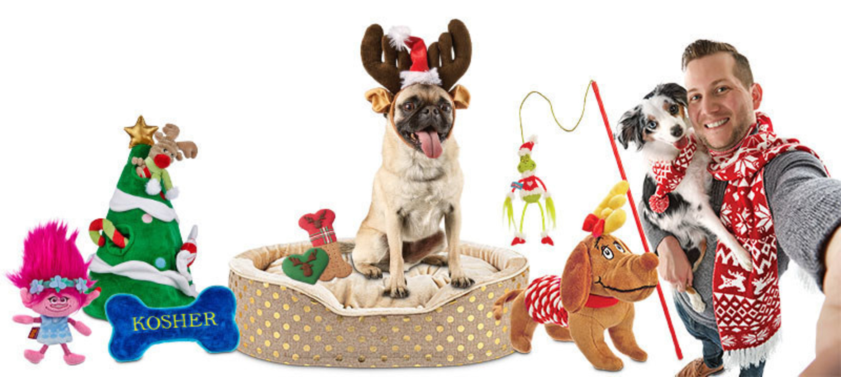 84 percent of pet parents surveyed by Petco confirmed they plan to buy holiday presents for their four-legged family members; 50 percent will also purchase a gift for a friend or relative's pet.