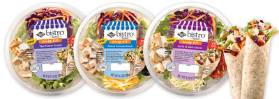 Ready Pac Bistro(R) Bowl(TM) Wrap Kits (PRNewsFoto/Ready Pac Foods, Inc.)
