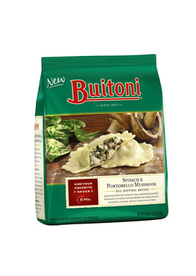 Buitoni North America is initiating a voluntary recall of BUITONI(R) Spinach & Portobello Mushroom All Natural Ravioli with UPC code 24842-99186.  (PRNewsFoto/Nestle Prepared Foods Company)