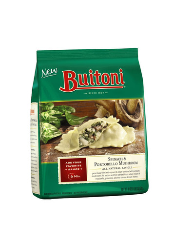 Nestle Announces Voluntary Recall; Affects Frozen BUITONI® Spinach & Portobello Mushroom All