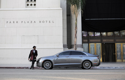 """The Lincoln Motor Company teamed with recording artist Aloe Blacc and Interscope Records to create an interactive music video for his new song """"Love is the Answer."""" Photo Credit: Ben Rowland / The Lincoln Motor Company.  (PRNewsFoto/The Lincoln Motor Company)"""