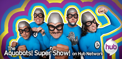 "Emmy(R) Award Nominated Series ""The Aquabats! Super Show!"" with New Episodes June 1 on Hub Network.  (PRNewsFoto/Hub Network)"