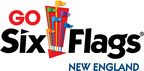 Six Flags New England logo.