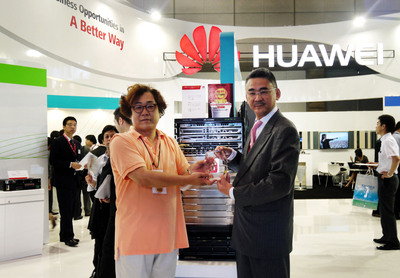 Huawei Showcases Innovative Enterprise Products and Solutions at Interop Tokyo 2013, with CloudEngine Data Center Switch Recognized in the Best of Show Award in the Data Center and Storage Category