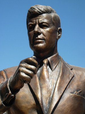JFK Tribute in Fort Worth, Texas.  (PRNewsFoto/Downtown Fort Worth Initiatives, Inc.)