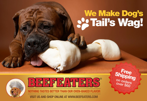 Beefeaters Dog Treats Launches New Web Site with More Bark & Byte