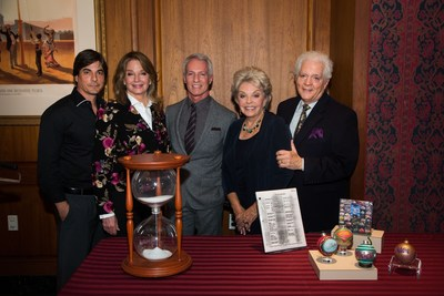 DAYS OF OUR LIVES MAKES DONATION TO SMITHSONIAN FOR 50th ANNIVERSARY