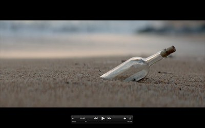 """Consumers can visit Carnival Corporation's new campaign hub created by BBDO Atlanta - WorldsLeadingCruiseLines.com - for details on how to vote for their favorite of four possible advertisements. The """"Message in a Bottle"""" ad captures special moments of cruising."""