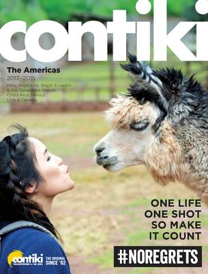 "Contiki's ""Americas"" brochure 2013-2015.  (PRNewsFoto/Contiki Vacations)"