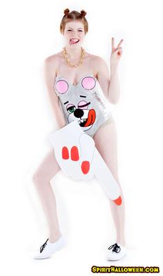 Spirit Halloween's Twerkin' Teddy Costume and Party Finger.  (PRNewsFoto/Spirit Halloween)