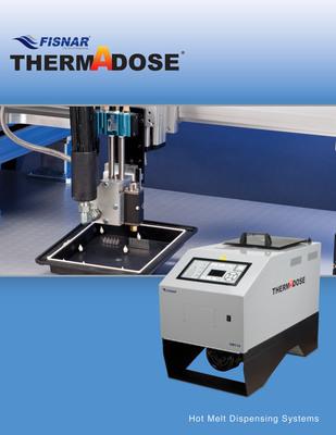 Fisnar THERMADOSE Hot Melt Dispensing Systems.  (PRNewsFoto/Fisnar Inc.)