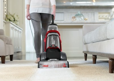 BISSELL introduces the new ProHeat 2X(R) Revolution(TM) Pet, which makes deep cleaning carpet as easy as vacuuming so users can rest assured that their carpets are clean and odor-causing bacteria is controlled, when using BISSELL Deep Clean + Antibacterial formula.