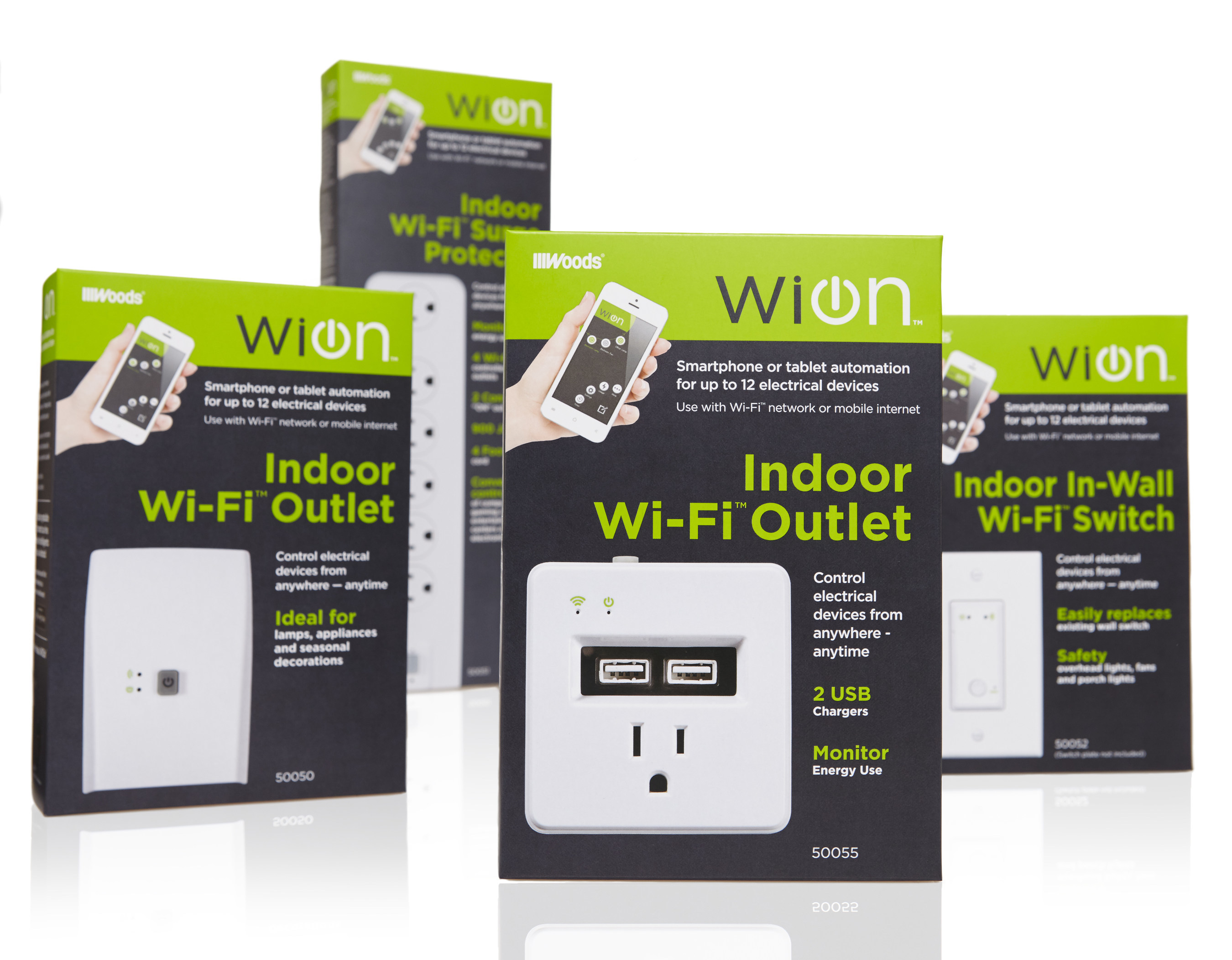 Woods Brand Products Releases WiOn Smart Switches, the New Wi-Fi ...