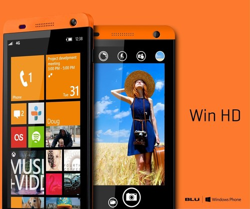 Win HD 2 (PRNewsFoto/BLU Products)
