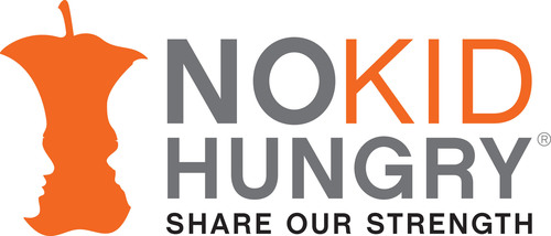 No Kid Hungry, Share Our Strength Logo.