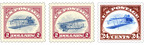 The Postal Service has printed 100 additional sheets of stamps of the recently issued $2 Inverted Jenny stamp but with the plane flying right-side up. These very limited edition stamps were circulated with the recent issue of stamps mimicking the most famous stamp error in U.S. history. Customers who purchased the new Inverted Jenny stamp could have a very limited edition of the famous stamp.  (PRNewsFoto/U.S. Postal Service)