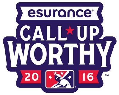Esurance announces partnership with Minor League Baseball; create Call-Up Worthy platform.