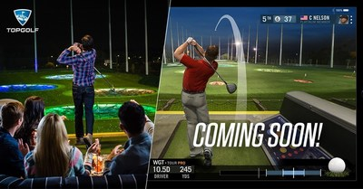 Topgolf acquires World Golf Tour to comingle online and offline golf experiences