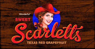 Wonderful Sweet Scarletts Texas Red Grapefruit Logo.  (PRNewsFoto/Paramount Citrus)