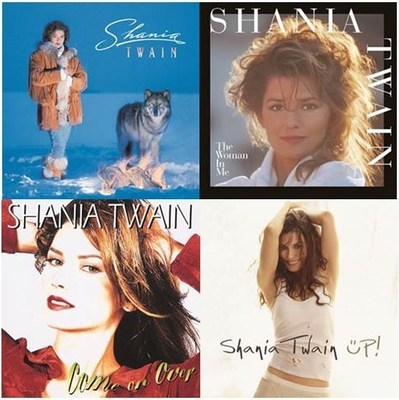 Shania Twain's catalog will be released on vinyl for the very first time on October 14.