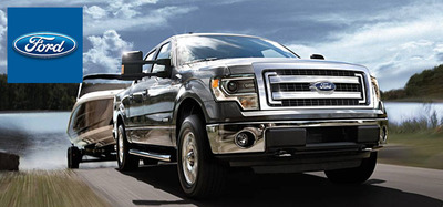 The best-selling 2014 Ford F-150 is made available with four powerful and efficient engines.  (PRNewsFoto/Osseo Automotive)