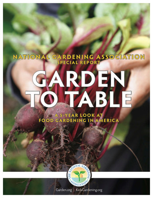 Food Gardening In The U.S. At The Highest Levels In More Than A Decade According To New Report By The National Gardening Association.  (PRNewsFoto/The National Gardening Association)