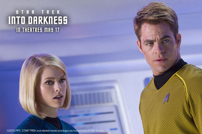 Star Trek Into Darkness premieres May 17.