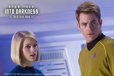 Star Trek Into Darkness premieres May 17.