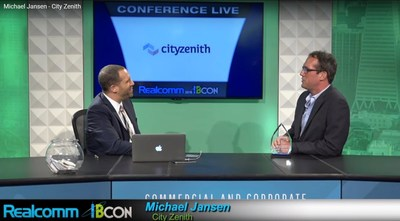 The after award interview on Realcom Live with Cityzenith CEO Michael Jansen.