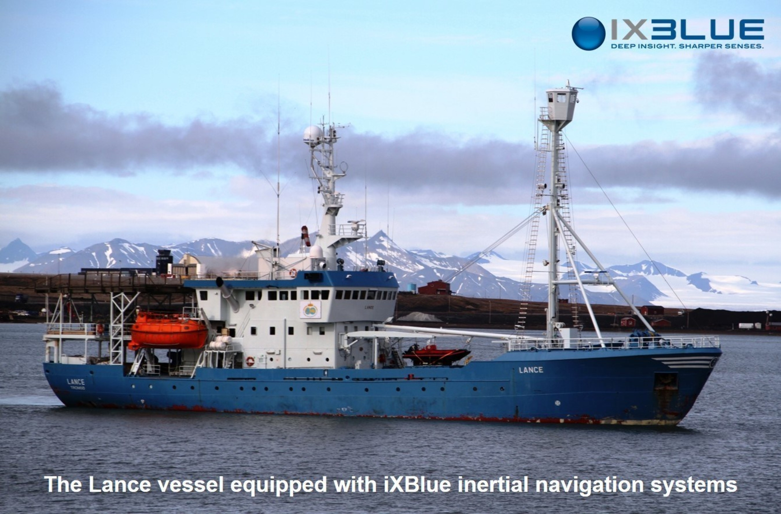 iXBlue, leader in the FOG technology, meets the challenge of high latitude navigation