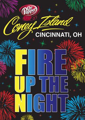 Coney Island Fireworks  Cincinnati Ohio