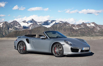 Powerful, Efficient and Wonderfully Open - the New Porsche 911 Turbo Cabriolet Models