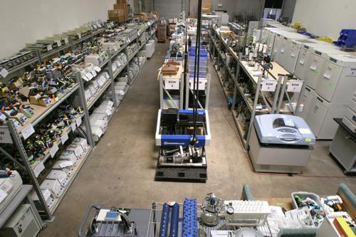 Largest San Francisco Bay Area Lab Equipment Auction.  (PRNewsFoto/BioSurplus)