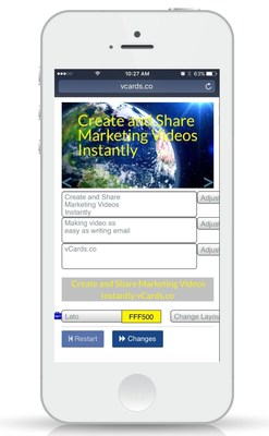 vCards.co Create And Post Marketing Videos From Any Device