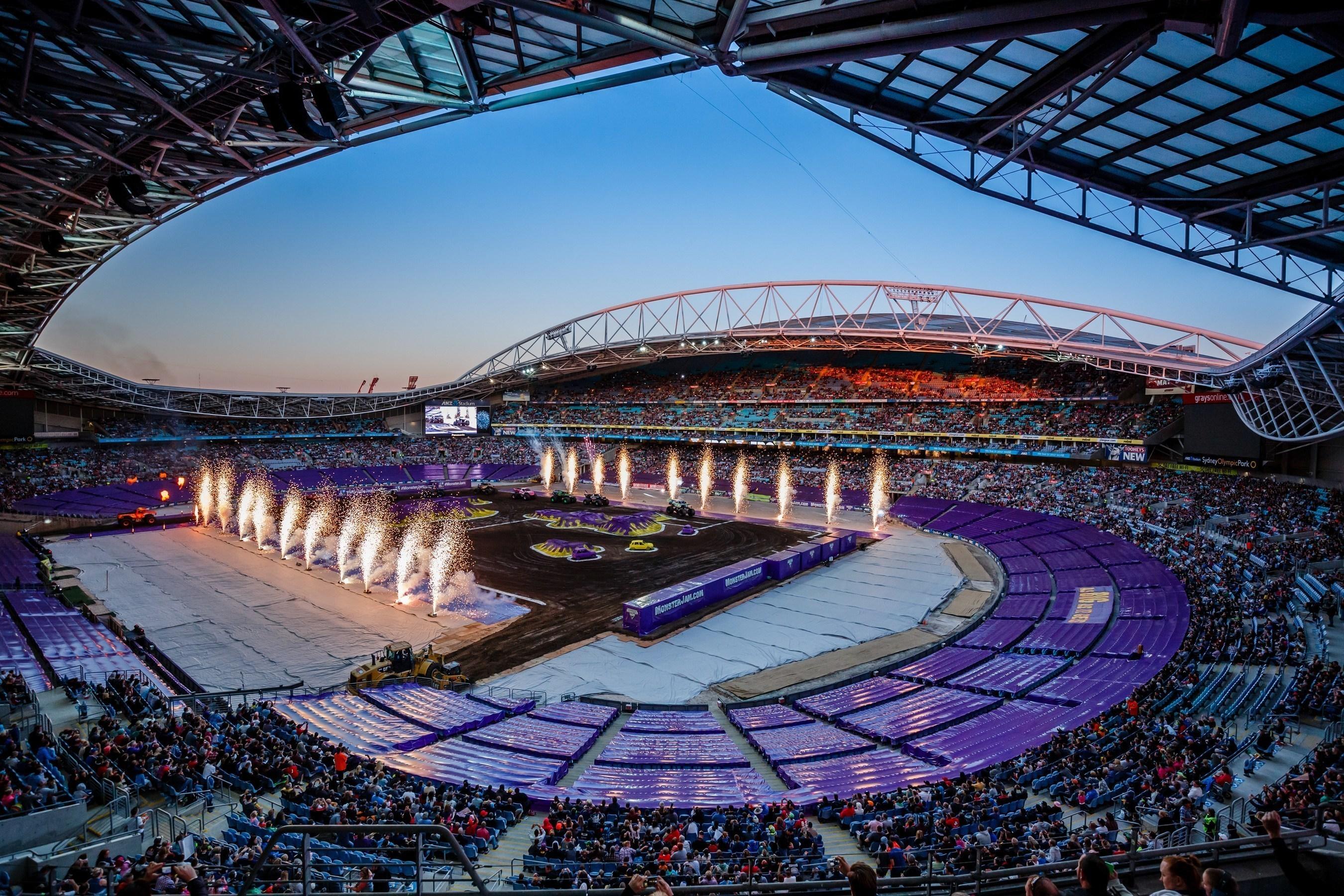 Los Stadium Business Awards premian como Best 2014 Guest Event a Monster Jam® en el ANZ Stadium de