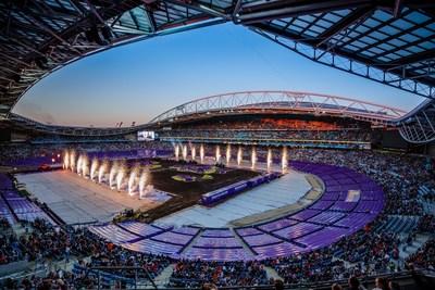 Monster Jam® in Sydneys ANZ Stadium als 2014 Best Guest Event der Stadium Business Awards