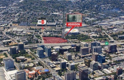 Pictured: Land acquired by a joint venture including Multi-Employer Property Trust (MEPT) and its real estate advisor, Bentall Kennedy (U.S.) Limited Partnership (Bentall Kennedy), together with Trammell Crow Company. The site, located at 374-384 West Santa Clara Street in San Jose, California will host Diridon Station, the Silicon Valley terminus for Caltrain ACE trains, VTA light rail and a planned BART station.