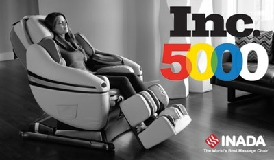 Inada USA, which distributes the DreamWave massage chair, was named to the Inc. 5000. (PRNewsFoto/Inada USA)