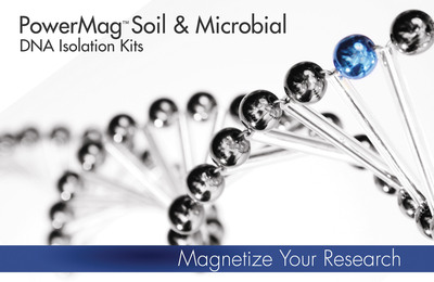 MO BIO Laboratories, Inc. Launches the PowerMag Soil and Microbial DNA Kits for automated isolation of inhibitor-free DNA.  (PRNewsFoto/MO BIO Laboratories, Inc.)