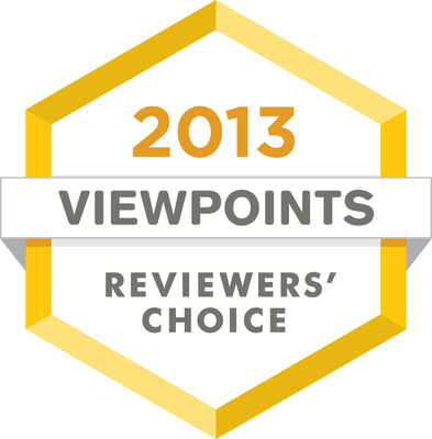 The Viewpoints' Reviewers Choice awards recognize the best products you can buy, based solely on the product reviews on Viewpoints written by you, the consumer.  (PRNewsFoto/Viewpoints)